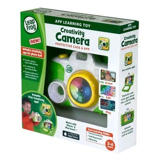 LeapFrog Creativity Camera App with Protective Case for Apple iPhone 4/4s/5 and