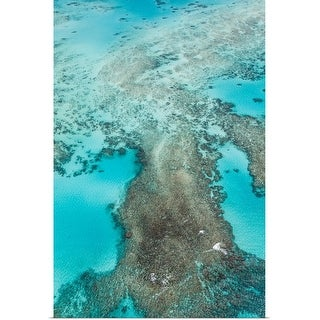 """""""Aerial View Great Barrier Reef, Australia"""" Poster Print"""