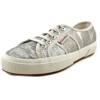 Superga 2750 Cotu Classic Women Synthetic Silver Fashion Sneakers