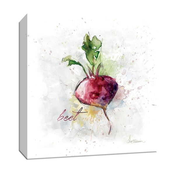 "PTM Images 9-147151 PTM Canvas Collection 12"" x 12"" - ""Veggie Beet"" Giclee Fruits & Vegetables Art Print on Canvas"