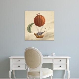 Easy Art Prints Terry Fan's 'Adventure Awaits' Premium Canvas Art