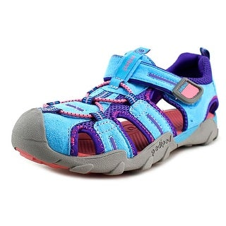 Pediped Flex Canyon Blue Round Toe Synthetic Sport Sandal