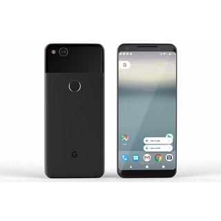 Google Pixel 2 XL 128gb Just Black Unlocked (Manufacturer Refurbished)