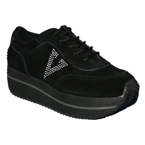 50d54a3b2 Shop Volatile Women s Expulsion Fashion Wedge Sneakers - Black - Free  Shipping Today - Overstock - 21009108