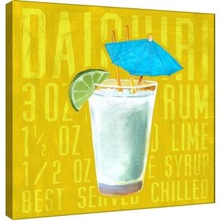 "PTM Images 9-100024  PTM Canvas Collection 12"" x 12"" - ""Daiquiri (Square)"" Giclee Liquor & Cocktails Art Print on Canvas"