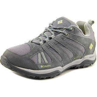 Columbia Dakota Drifter Women Round Toe Suede Gray Hiking Shoe