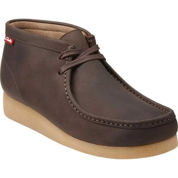 ac6796b1f45c77 ... Men s Shoes     Men s Boots. Clarks Men  x27 s Stinson Hi Moc Toe Boot  Brown Oily Leather