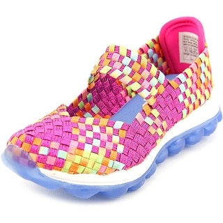 Skechers Skech Air Glitzy Fitz Youth Round Toe Canvas Mary Janes (Option: 3.5)