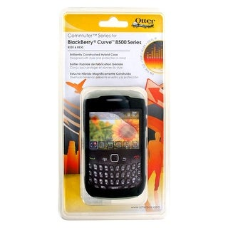 Otterbox - Commuter Case for Blackberry Curve 8520, 8530, 9300 - Black/Gray