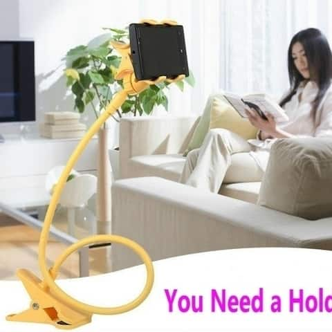 Universal Mobile Phone Holder Lazy Bed Desktop Car Mount Holder Lazy Bed Bracket For Iphone 4 4S 5 5S For Samsung Galaxy