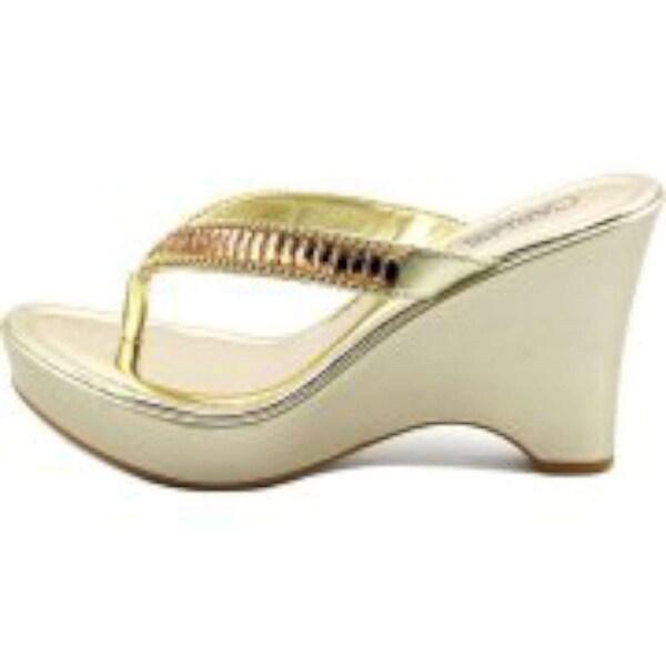 Carlos by Carlos Santana Womens karson Open Toe Casual Slide Sandals