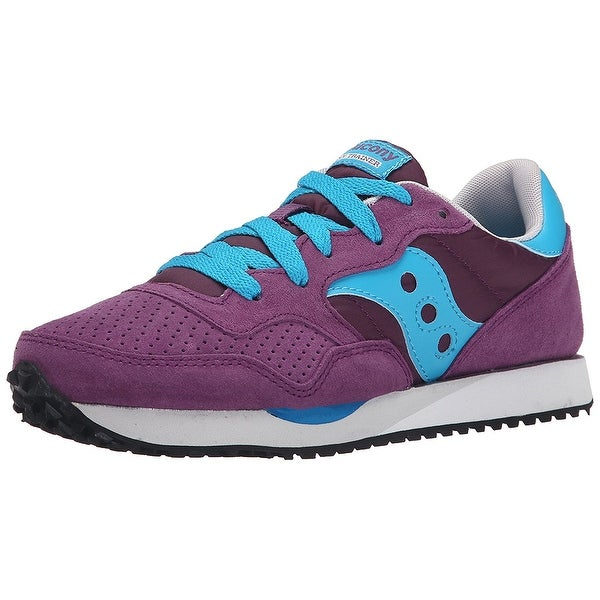 Shop Saucony Womens dxn trainer Low Top Lace Up Fashion Sneakers ... ef49a9b29af2