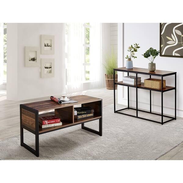 Vecelo Coffee Table Console