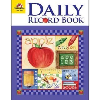 (3 Ea) Daily Record Book School Days Theme
