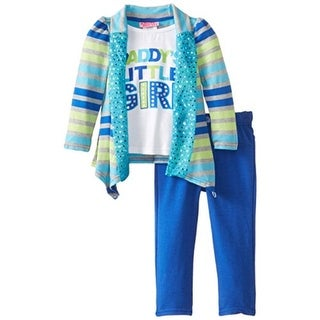 Young Hearts Toddler Heathered Pant Outfit