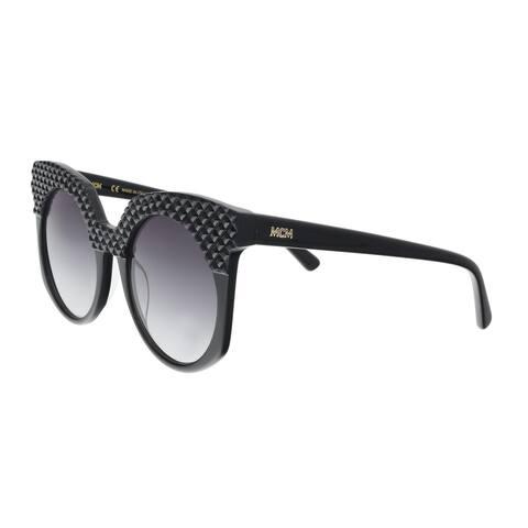 0d5cd2dead912 MCM MCM643SR 001 Black Round Sunglasses - 52-21-140