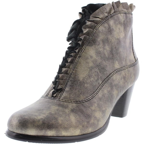 Everybody Womens Kava Booties Leather