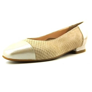 BeautiFeel Karen Square Toe Leather Flats