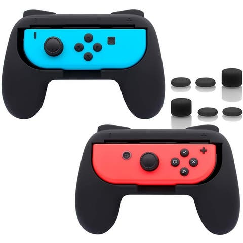 Grips Compatible with Nintendo Switch Joy-Con, Wear-resistant Handle