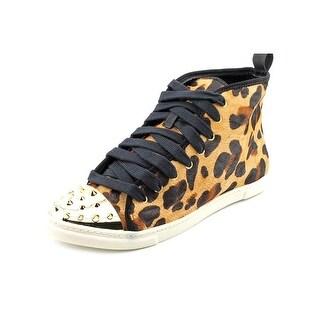 Schutz 45020074 Women Round Toe Suede Sneakers