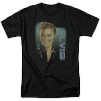 Elvis Elvis 56 Mens Short Sleeve Shirt