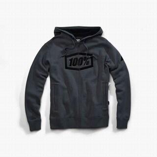 100% Percent Men's Syndicate Zip Hooded Sweatshirt - 36017