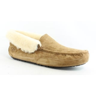UGG Mens 1005255-Che Chestnut Suede Moccasin Slippers Size 18