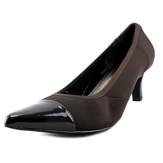 Ros Hommerson Keisha Women N/S Pointed Toe Synthetic Brown Heels
