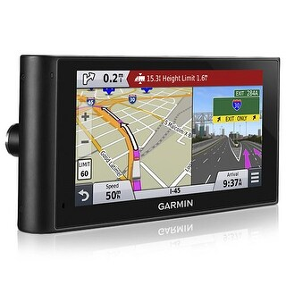 "Garmin Dezl Cam LMTHD 6"" Truck Navigator w/ Built-in Dash Cam & Customized Truck Routing"