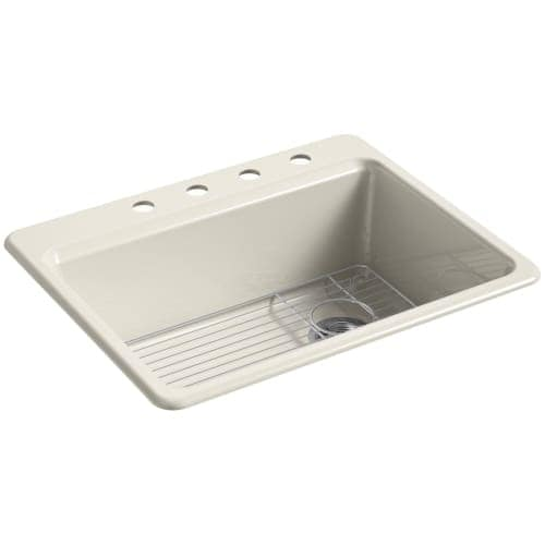 Kohler k 8668 4a1 riverby 27 single basin cast iron kitchen sink kohler k 8668 4a1 riverby 27 single basin cast iron kitchen sink for workwithnaturefo