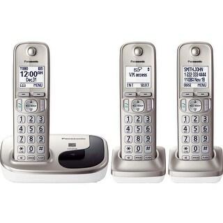 Panasonic KX-TGD213N DECT 6.0 Cordless Phone - Silver - Cordless (Refurbished)