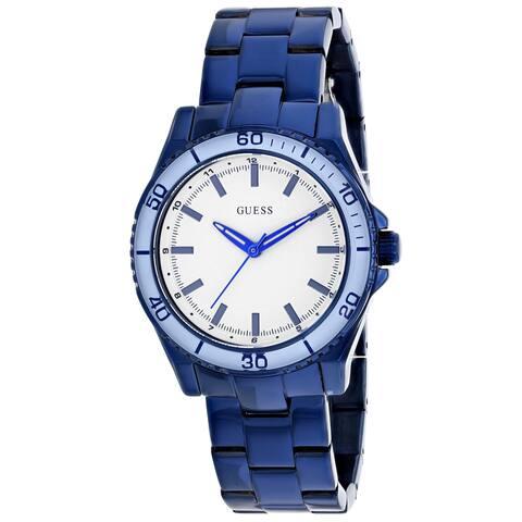 Guess Men's Classic U0557L3 White Dial Watch