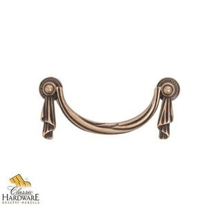 Bosetti Marella 100072 Louis XVI 3-3/4 Inch Center to Center Drop Cabinet Pull