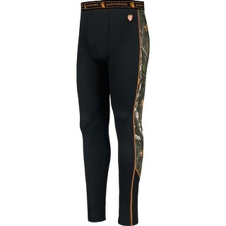 Legendary Whitetails HuntGuard Nanotec Base Layer Pants - Black