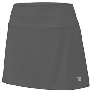 Wilson Womens Core 12.5 Skirt, Dark Grey, S