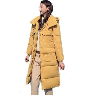 2019 Women's New Korean Hooded Thick Down Cotton Padded Clothes