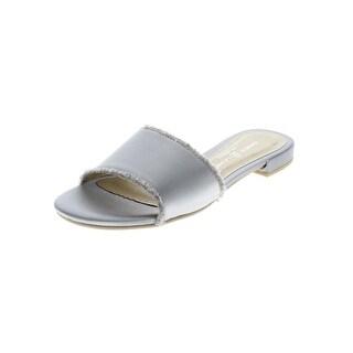 Chinese Laundry Womens Pretty Dress Sandals Satin Open Toe - 8.5 medium (b,m)