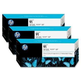 HP 91 Photo Black 3 Ink Multi Pack C9481A Ink Cartridge