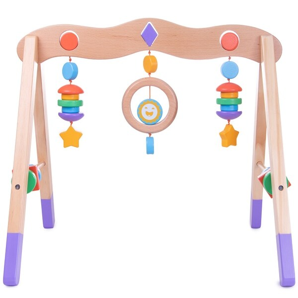 Little Olympians Wooden Baby Gym
