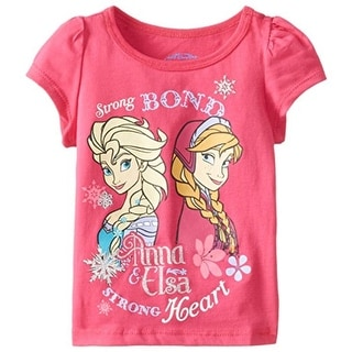 Disney Toddler Girls Elsa & Anna Casual Top - 3T