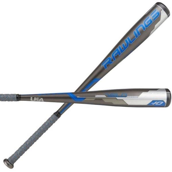 2018 Rawlings Velo Hybrid 2-5/8 Big bat end section Youth USA (-10) Baseball Bat, 29/19 oz.