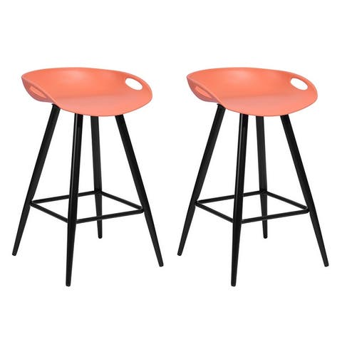 Furniture R Counter Height Bar Stools (Set of 2)