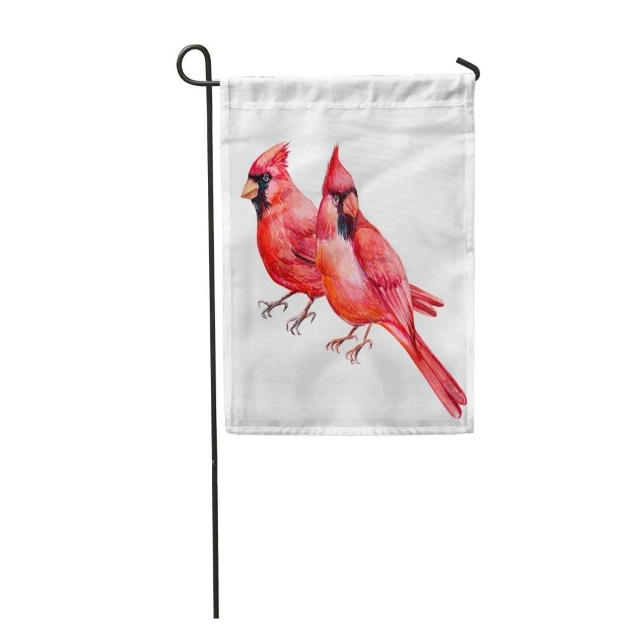 Red cardinal bird on branch bunting paper buntings 12 flags Party decorations Room decor indoor home decoration