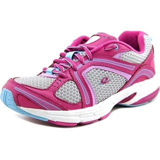 Easy Spirit Zamper Women Round Toe Leather Pink Running Shoe