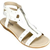 Rialto Womens gidget Open Toe Casual Ankle Strap Sandals - 6.5