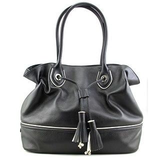 Cole Haan Reilly Tassel Tote    Leather  Tote - Black