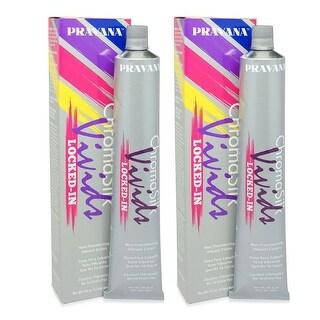 PRAVANA ChromaSilk Vivids (Locked in Purple), 3 Fl 0z - 2 Pack
