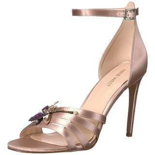 e024f251f568 Nine West Women s Jacinth Satin Heeled Sandal