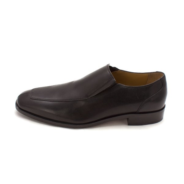 Cole Haan Mens Kilgore Saxs Gore Slipon Leather Square Toe Penny Loafer - 8.5