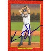Kameron Loe Autographed Baseball Card Texas Rangers 2006 Topps